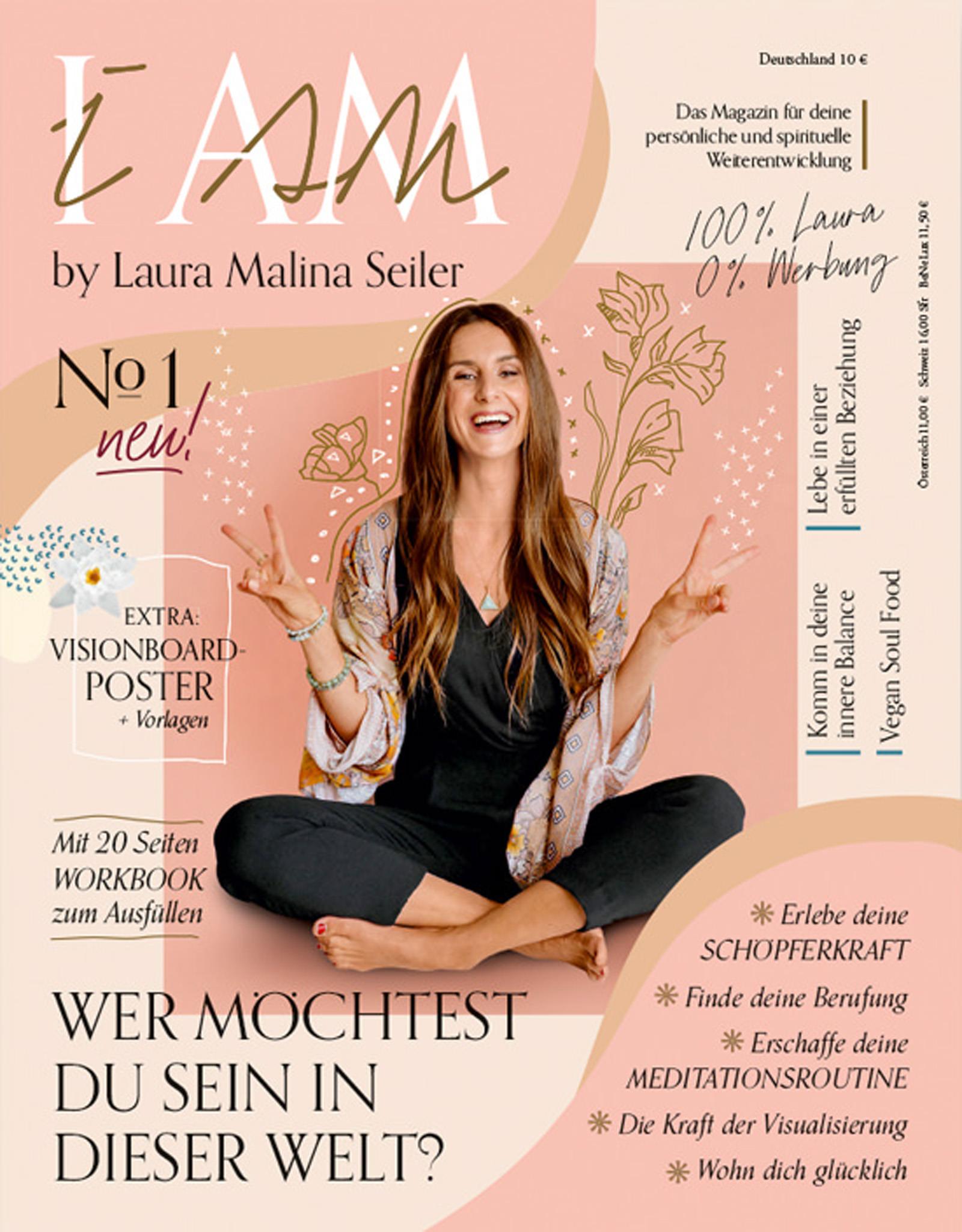 Laura Malina Seiler I AM Magazin Cover #1. Fotografiert von Farina Deutschmann