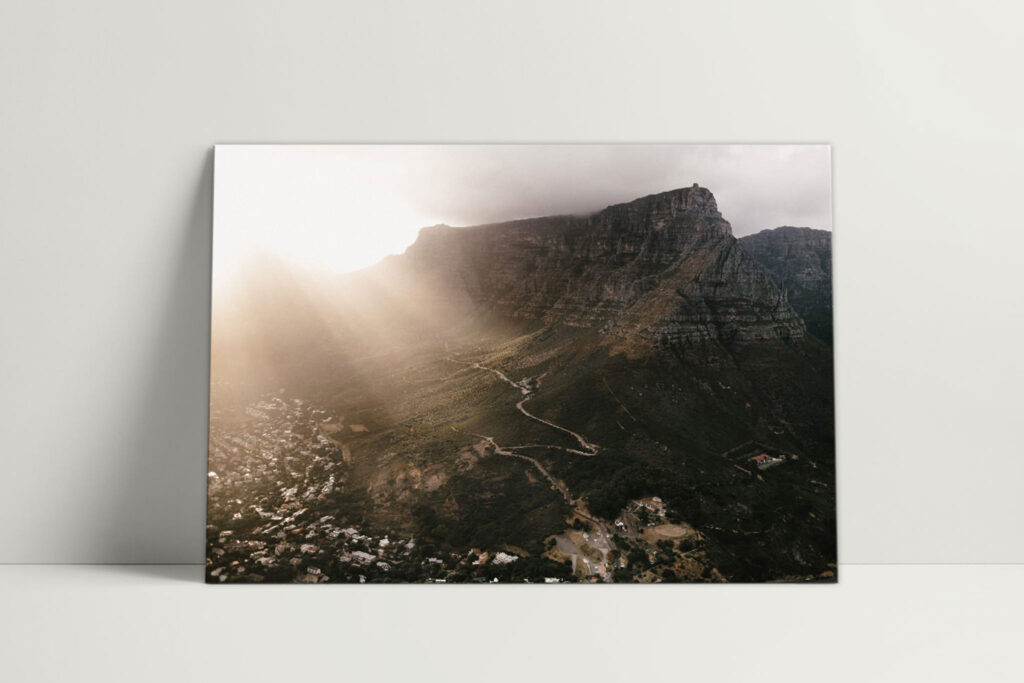Cape Town - Table Mountain, photographed by Farina Deutschmann
